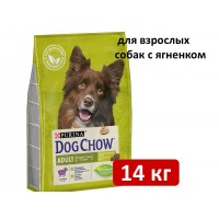 Dog Chow ADULT с ягненком 14 кг