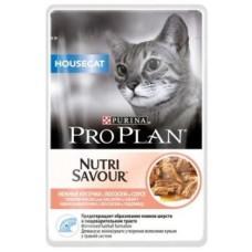 Pro Plan Housecat с лососем , 85гр